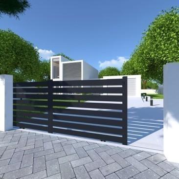 Portón Miami corredero 2...