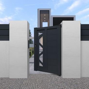 Portón Peatonal Perso+...