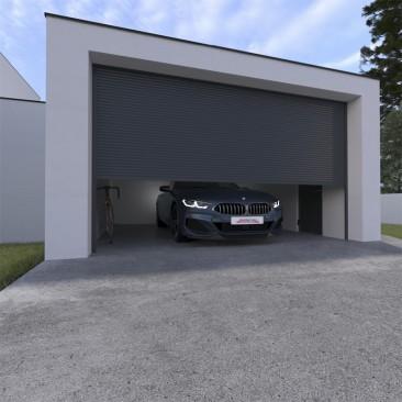 Puerta de garaje de...