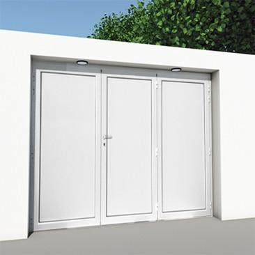 Puerta de garaje aluminio...