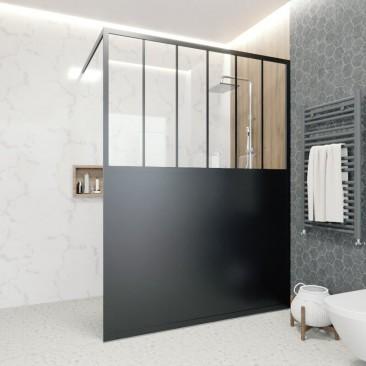 Divisoria de ducha con base...