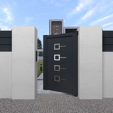 Portón Peatonal Decornox...