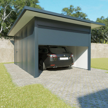 Garaje Tejado Plano