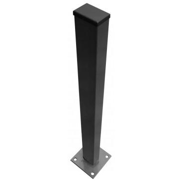 Poteaux pour grillage rigide soudé 60x40 mm hauteur 2350mm