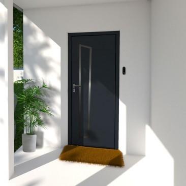 Puerta de entrada en acero Dia