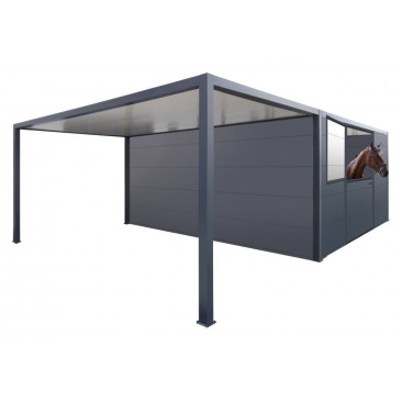 Module Carport + Box chevaux